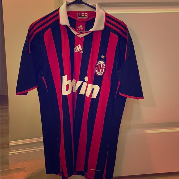 timeless design dcd48 6b9ee Authentic AC Milan jersey